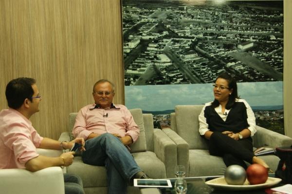 """Prefeito Vilton Cunha e secretária Morgana Kenya destacam ações sociais no """"TV Cidade"""""""