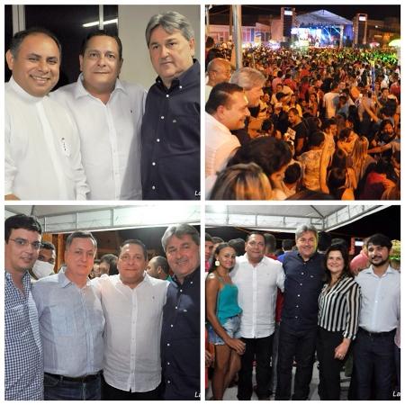 A festa contou com os shows festa no pátio da Matriz com as bandas Grafith, Farra de Rico e Lucas e Miguel.