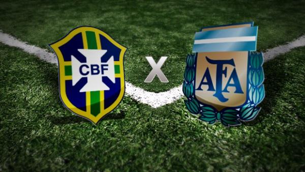 Brasil encara Argentina nesta quinta-feira pelas Eliminatórias da Copa