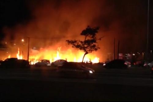 Região Metropolitana de Natal tem quase mil incêndios registrados até outubro