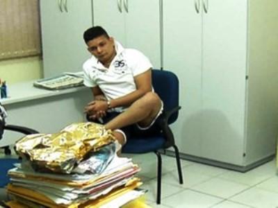 Lindenjohnson Filho foi preso em 2013 na operação 'Revide' (Foto: Reprodução/Inter TV Cabugi)