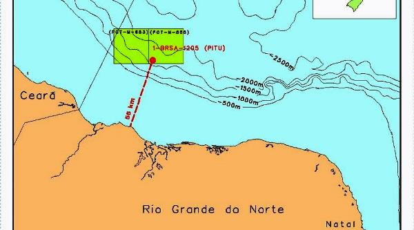Mapa Petrobras.