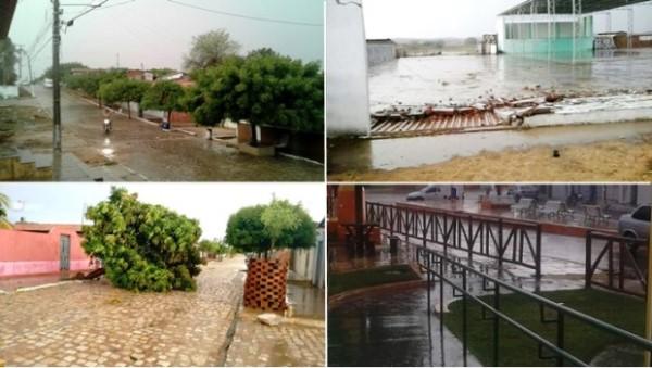 Choveu em várias cidades da região Oeste do RN nesta quarta