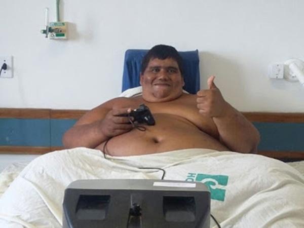 Paraibano Carlinhos perde 150kg em cinco meses e irá celebrar as festas de final de ano em casa