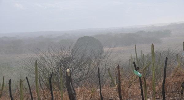 Choveu mais de 100 mm na região do Seridó nesta segunda, Veja registros