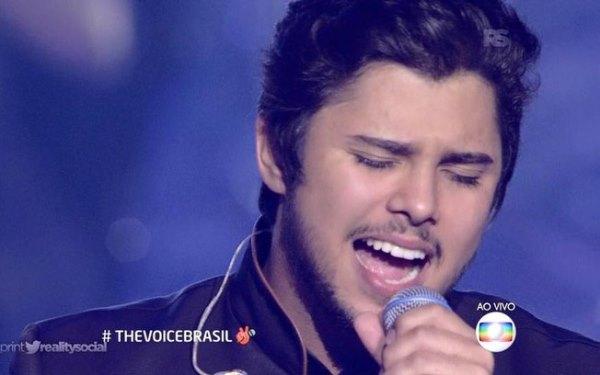 """Renato Vianna é o campeão do """"The Voice Brasil"""" com 56% dos votos"""