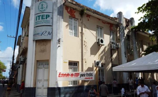 Servidores do ITEP iniciam greve nesta segunda-feira