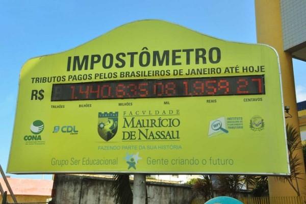 Brasileiro terá pago R$ 2 trilhões em impostos até final da próxima semana