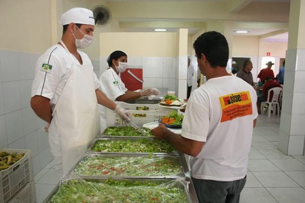 Licitação era para fornecimento e distribuição dos alimentos.