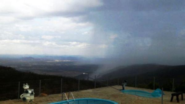 Registros de chuvas no Seridó nesta quinta-feira (17)