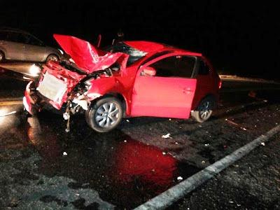 Grave acidente envolvendo moto e carro deixa duas vítimas fatais próximo a Acari