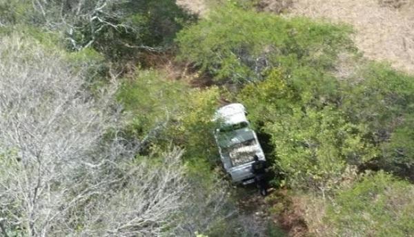 PM e Potiguar 01 localizam área de desmanche de veículos