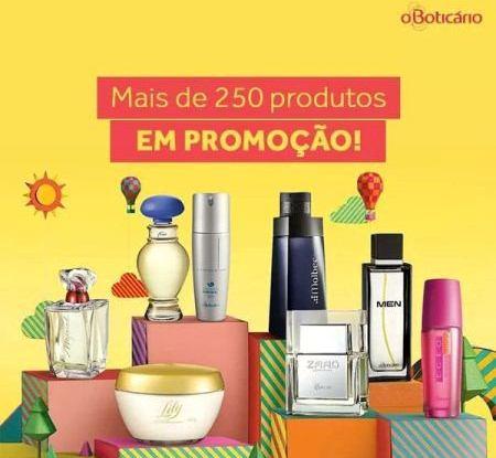 APROVEITE: O Boticário realiza grande promoção nos produtos de perfumaria