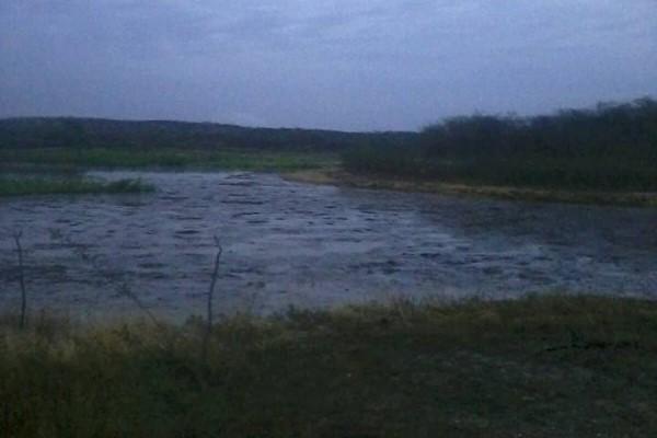 Açude na comunidade Vaca Brava em Acari começa a receber primeiras águas