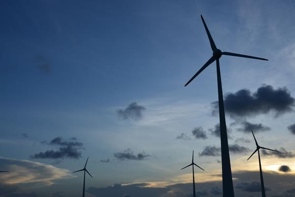 O espanhol Santander tem em sua carteira de negócios no Brasil projeto de energia eólica em operação no Rio Grande do Norte.