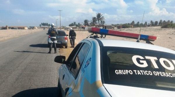 Polícia Rodoviária Estadual fiscaliza orla marítima do RN