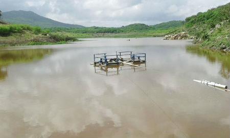 CERRO CORÁ: Açude Pinga já recebeu um bom volume de água