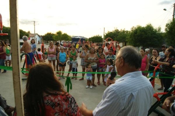 "Academia popular do bairro ""Sílvio Bezerra"" foi inaugurada nesta terça-feira, 12"