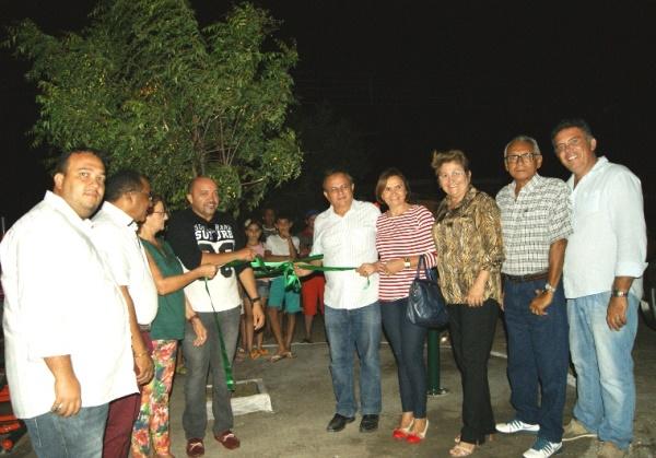 Prefeitura inaugurou academia popular do Povoado São Sebastião nesta quinta-feira, 14