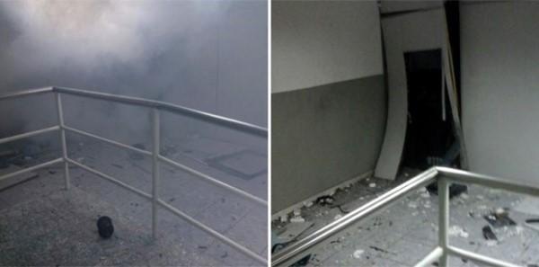 Criminosos explodem caixa de banco em Boa Saúde, RN