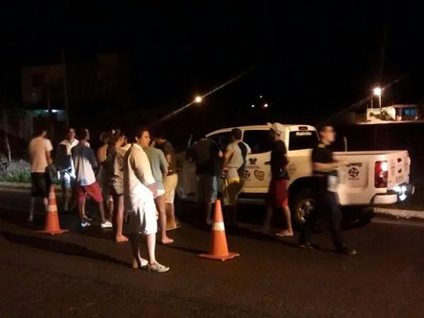 Após ser pego pela 3ª vez em blitz da lei seca, homem agride policiais em Natal