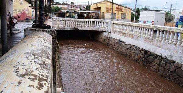 Sábado chuvoso também no município de Jardim do Seridó