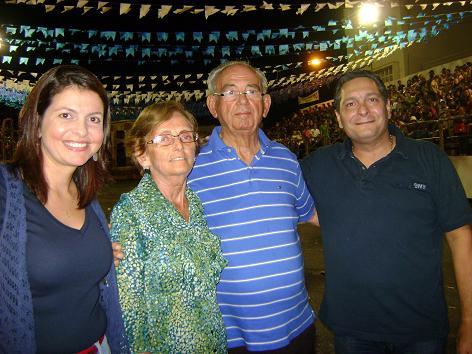 Milena Galvão, Maria Coeli, Geraldo Gomes e Ezequiel Ferreira.