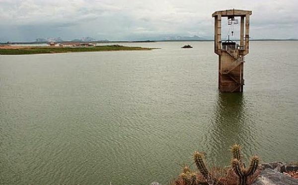 Barragem Armando Ribeiro registrou elevação 1,7 milhão de m³
