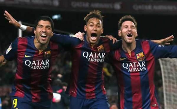 Jornal elege os 100 melhores do mundo com trio MSN no topo