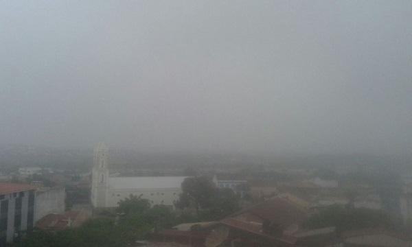 Blogueiros registram chuvas fortes no RN