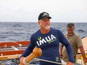Havaianos querem mostrar que o planeta é uma grande ilha (Foto: Jason Patterson)
