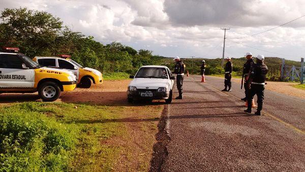 Polícia Rodoviária Estadual intensifica fiscalização em Currais Novos e na praia de Pirangi