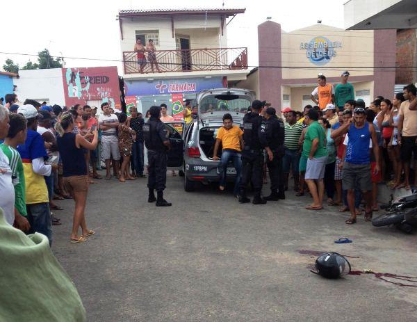 ITAJÁ: Assalto a casa lotérica termina com um bandido morto e outro ferido