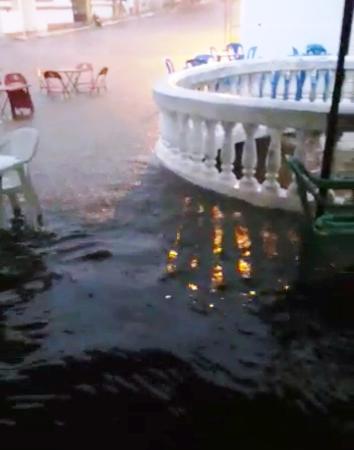 JARDIM DO SERIDÓ: Chuva de 85 mm banhou a cidade no fim da tarde deste sábado (13)