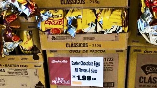 Brasileiros se revoltam com ovos da Garoto a US$ 1,99 nos EUA. Há também outras marcas