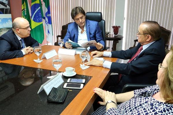 Governador recebe grupo SERHS e mostra investimentos para fortalecer turismo