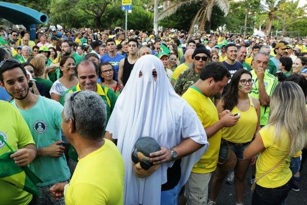 Organizadores comemoram protesto e estimam presença de 20 mil pessoas em Natal
