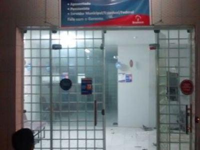 Bandidos passam trote para Polícia Militar e explodem caixa eletrônico na Paraíba