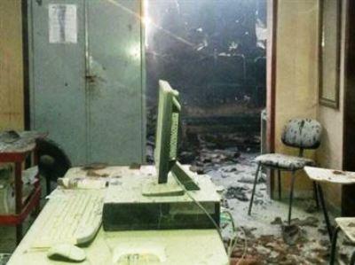 Incêndio destrói delegacia e destacamento da Polícia Militar na Paraíba