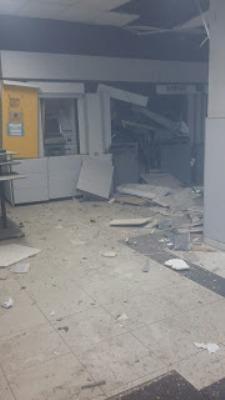 Explosão no Banco do Brasil de Barra de Santa Rosa.