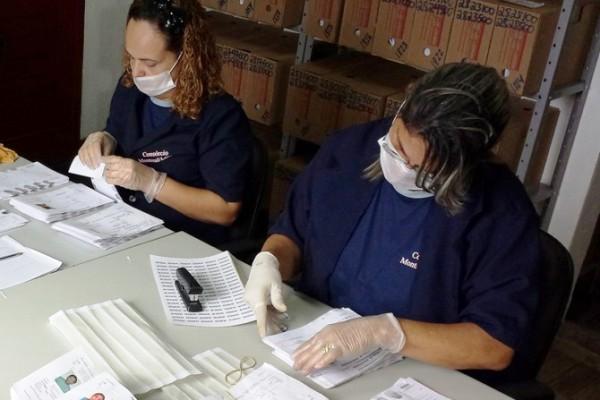 """""""Diariamente são processadas cerca de 36 mil fichas. (Foto: Cedida)"""