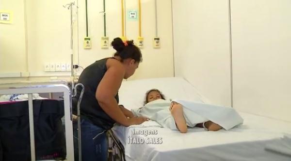 Violência: Criança é atingida por 8 tiros e em seguida socorrida para o Walfredo Gurgel