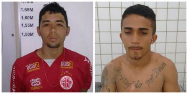 Polícia prende dupla suspeita por roubo na Via Costeira