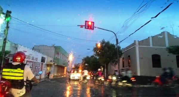 Chuvas de até 60 mm foram registradas em Caicó e região