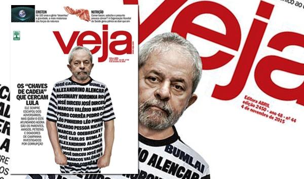 """VEJA não terá de indenizar Lula por capa de """"presidiário"""""""
