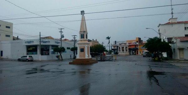 Chuvas banham Currais Novos, Florânia e várias cidades do Seridó