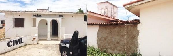 INSEGURANÇA GERAL: Assaltantes invadem prédio e furtam armas de delegacia no interior do RN