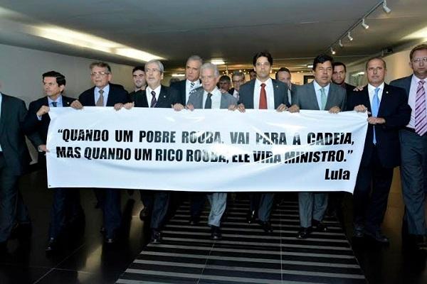 Felipe Maia participa de movimentação contra nomeação de Lula