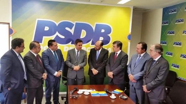 """Com filiação de Ezequiel e Gustavo, Rogério diz que """"PSDB passa a ser protagonista da política potiguar"""""""