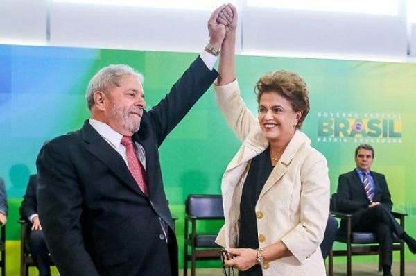 Dilma e Lula decidem insistir na posse dele como ministro